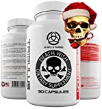 _ ANABOLIC TRIBULUS Extreme by Death Wish Supplements * Testo Booster with Natural Estrogen Blocker - 45% Steroidal Saponins,Libido Booster,Strength,Stamina,Aphrodisiac for Men/Women