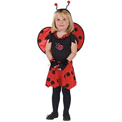 Sweetheart Ladybug Child Costume Size 3T-4T Toddler: Toys & Games