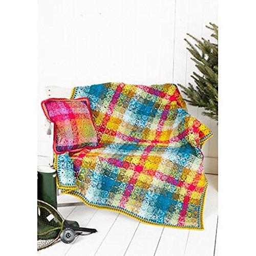 Stylecraft Home manta y cojín patrón de ganchillo 9255 DK ...