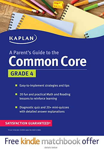 Parent's Guide to the Common Core: 4th Grade by Kaplan Publishing