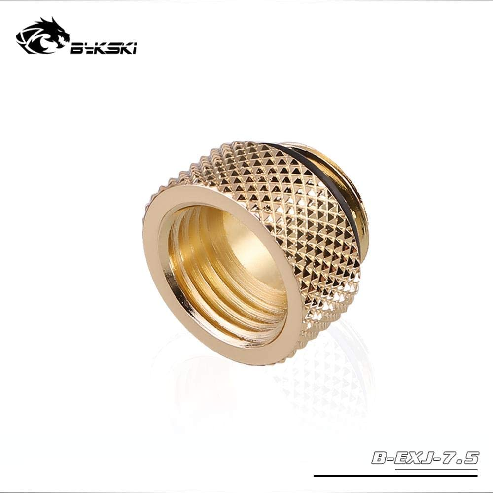 Bykski B-EXJ-7.5 7.5mm Extend Connector Fitting Joint Gold