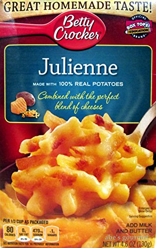 Betty Crocker Real Potato Sides: Julienne (Pack of 3) 4.6 oz Boxes by Betty Crocker