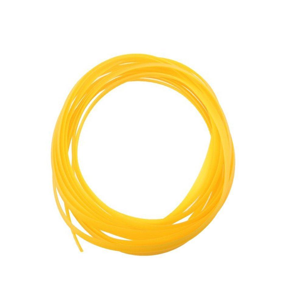 WINOMO Car Trim Strip Interior Exterior Decoration Moulding Line 5M (Yellow) TRTAZ11A