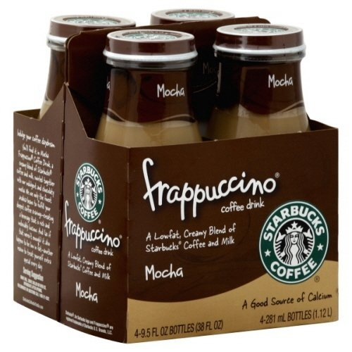 Starbucks Coffee Frappuccino Coffee Drink, Mocha 9.5 Fl Oz (Pack of 8)