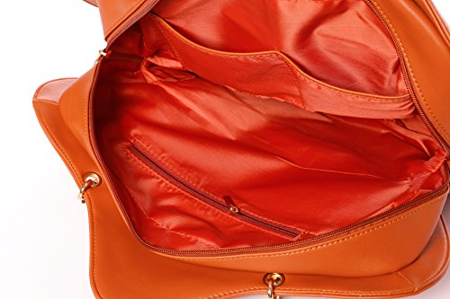 Transparent Star Ita Candy Bag Bags Backpacks Kawaii Crossbody Clear Leather Orange Purse Lolita Handbag xRCaqUX