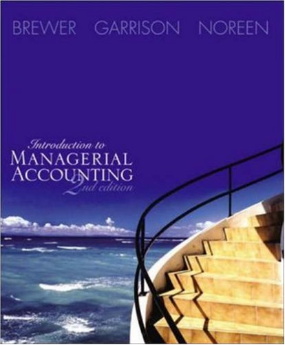 Introduction to Managerial Accounting W/Topic Tackler Net Tutor & Online Learning Center W/Premium Content Card - Cards Premium Net