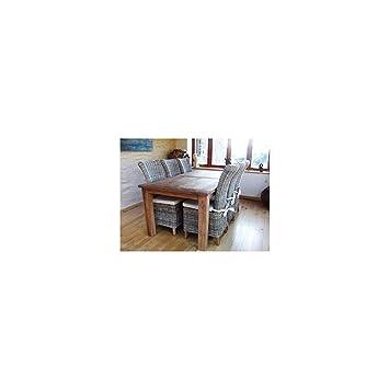 Inspiring Furniture LTD Table de Jardin en Teck recyclé Ensemble ...
