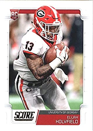 detailed look 47c9c f7c7c Amazon.com: 2019 Score Football #357 Elijah Holyfield ...