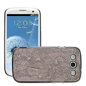 Etui Housse Coque de Protection Cover Rigide pour // M00151127 Antecedentes Estructura inoxidable // Samsung Galaxy S3 S III SIII i9300