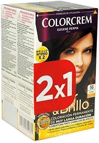 Colorcrem Tinte 2X1 56 Caoba 200 gr: Amazon.es: Belleza