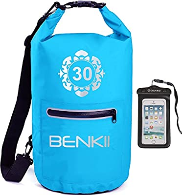 Dry Bag Sack, Waterproof Floating Dry Gear Bags for Kayaking, Boating, Fishing, Swimming, Camping and Snowboarding