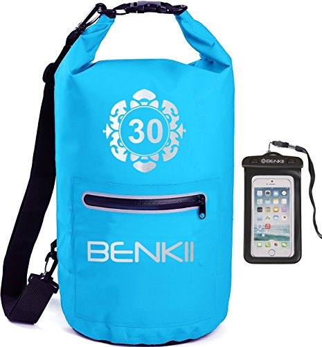Dry Bag Sack, Waterproof bags for Kayaking, Compression kayak fish bag for Boating, Fishing, Swimming, Camping and Snowboarding