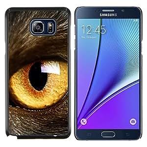 Be-Star Único Patrón Plástico Duro Fundas Cover Cubre Hard Case Cover Para Samsung Galaxy Note5 / N920 ( Giallo )