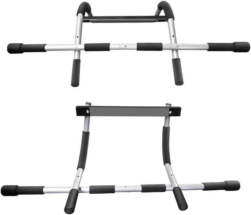GH DYNAMICS Pull Up Bar Multifunctional Portable Gym System,Home Gym Exercise Equipment Strength Training Upper Body Workout Bar