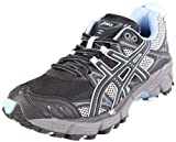 ASICS Womens Gel-Kahana 5 Running Shoe,Black/Titanium/Blue Bell,9 M US