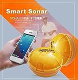 Dreamyth Fish Finder,Wireless Sonar Fish Finder Sea Lake Fish Detect For Smartphone