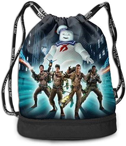 ゴーストバスターズ2 大容量 クファッション印刷 バックパッ男女兼用 バックパック小新鮮 旅行スポーツバッグ 防水スイミングバック学生バッグ 多機能 収納バックパッ