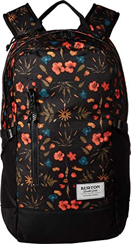 Burton Prospect Backpack, Black Fresh Pressed Print