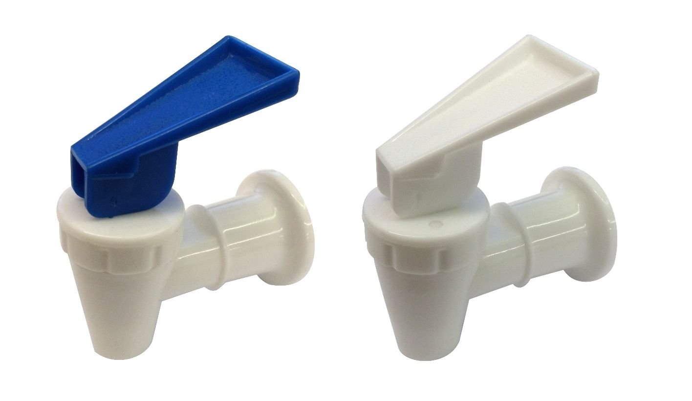 Water Cooler Faucet for Sunbeam BLUE and WHITE Combo Pack of 2