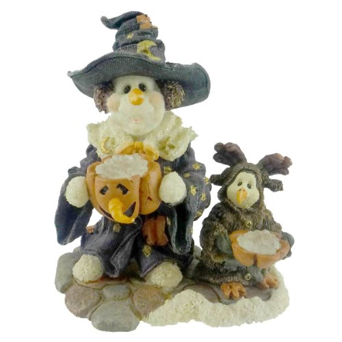 Boyds Bears ARABELLA & OSCAR ICY TREATS Resin 1E - Halloween