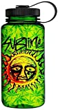 JUST FUNKY Sub-H20-2849-Jfc-01 Green Sublime Sun Water Bottle