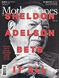 Mother Jones Magazine (April 2016 - Cover: Sheldon Adelson)