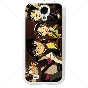 Detective Conan Manga Anime Comic Samsung Galaxy S4 SIV I9500 TPU Soft Black or White case (White)
