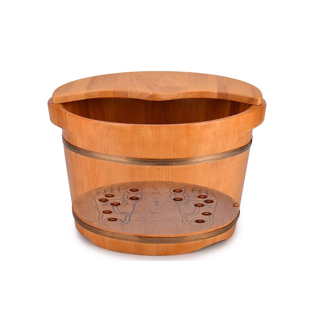 LIZHIQIANG 36cm*24cm) 36cm*24cm ペディキュアスパのオーク樽、スムーズで繊細なペディキュアバレル さいず、ペディキュアボールスパのマッサージペディキュアバレル、フットバスバレル (サイズ さいず : 36cm*24cm) B07MR29GKF 36cm*24cm, ハチロウガタマチ:53fff1a4 --- lembahbougenville.com