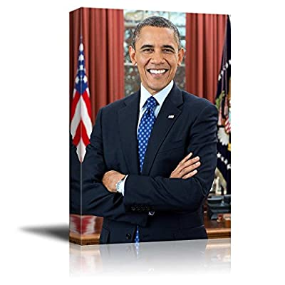 Unbelievable Picture, Created Just For You, Portrait of Barack Obama (44th President of The United States) American Presidents Series
