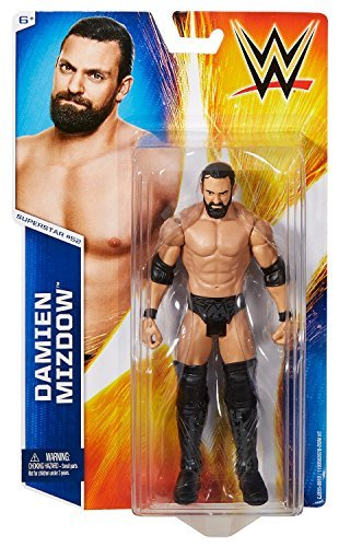 WWE Damian Mizdow Mattel Basic Series 53 Action Figure Toy