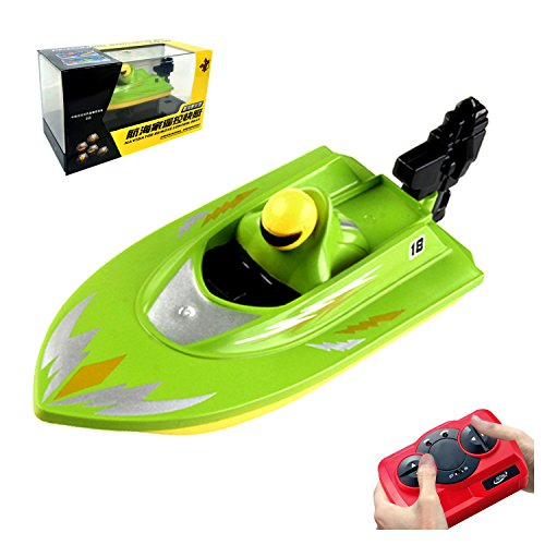 POCO DIVO Pool Motor Boat 2.4Ghz Mini RC Racer Bathtub Yacht Toy Ship - - Rc Racer Speed