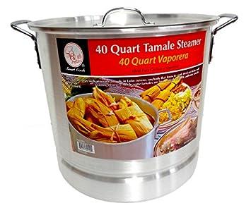Amazon.com   40 Qt Tamale Steamer Vaporera Stock Pot Premium ...
