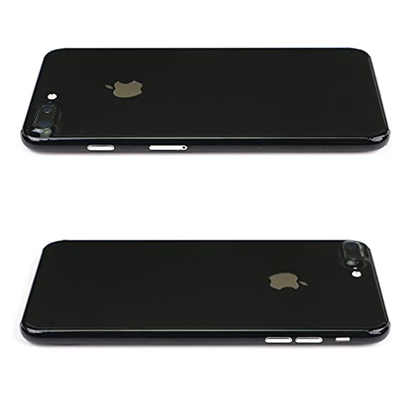 reputable site cd430 8d8c2 Toeoe iPhone Jet Black Skin, Full Body Protection Sticker Decal for iPhone  7 Plus Jet Black