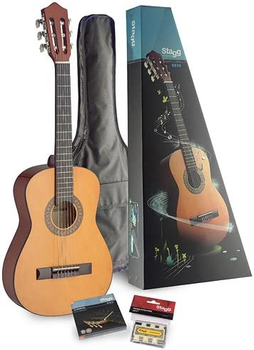 Stagg C510 PACK 1/2 - Guitarra de conciertos: Amazon.es ...