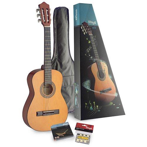 Stagg C510 1/2 Konzertgitarre-Set (6 Saiten) natur C510 PACK 85457