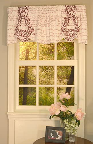 Curtain Chic Mon Amie Lined Port Beacon Valance