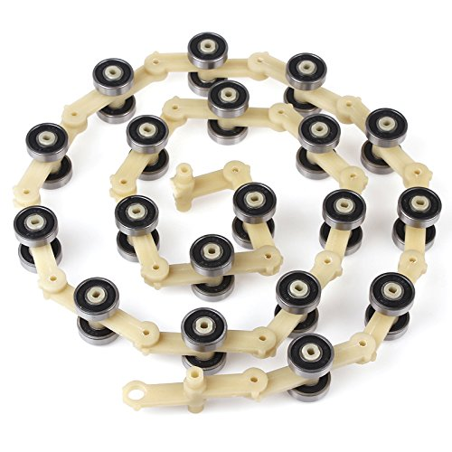 10pcs/Pack SDS Type Escalator Newel Chain 17 Joints Bearing 609 by BIMORE