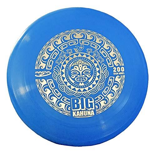 (Innova Big Kahuna 200 Gram Heavyweight Ultimate Throw and Catch Disc-Tiki Blue/Gold)