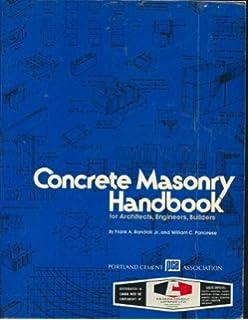 Masonry skills 5e richard t kreh 9780766859364 amazon books concrete masonry handbook for architects engineers builders fandeluxe Choice Image