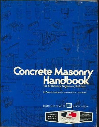 Concrete masonry handbook for architects engineers builders concrete masonry handbook for architects engineers builders 5th edition fandeluxe Choice Image