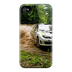 Special Phonecases2001 Skin Cases Covers For Iphone 4/4s, Popular Subaru Impreza Rally Drift Phone Cases