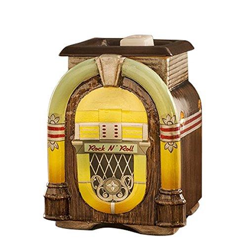 Jukebox Vintage Retro (Scentsationals Retro Collection- Retro Jukebox - Scented Wax Cube Warmer)