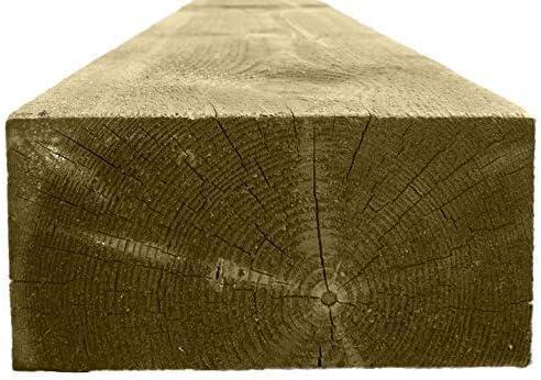 RUBY Madera Blanda Traviesas 2.4m (8ft) 100mm x 200mm: Amazon.es: Jardín