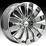 03 cadillac cts rims - Pacer Silhouette 20x8.5 Chrome Wheel / Rim 5x115 & 5x120 with a 40mm Offset and a 74.10 Hub Bore. Partnumber 776C-2855540