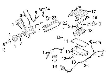 Amazon Com Ford 4c2z 9461 Ba Fuel Injection Plenum Gasket Automotive