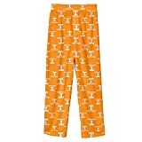 NCAA Tennessee Volunteers Youth Boys Team Color Printed Pant, Light Orange, Youth X-Large(18)