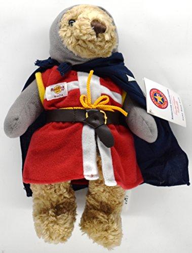 Hard Rock Cafe MALTA MALTESE KNIGHT Plush Herrington Teddy Bear Toy w/Tags