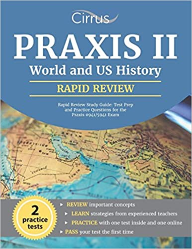 Praxis Ii World And Us History Rapid Review Study Guide Test Prep - Online-us-map-test