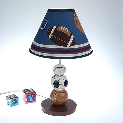 Amazon.com: WWW Sports Theme Desklamp Children\'s Bedroom Bedside ...