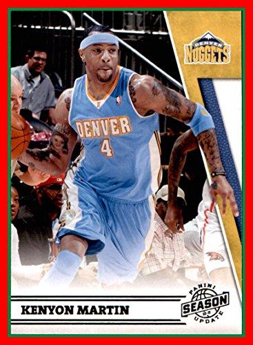 2010-11 Panini Season Update #135 Kenyon Martin denver nuggets (87b) (Nuggets Denver Kenyon Martin)